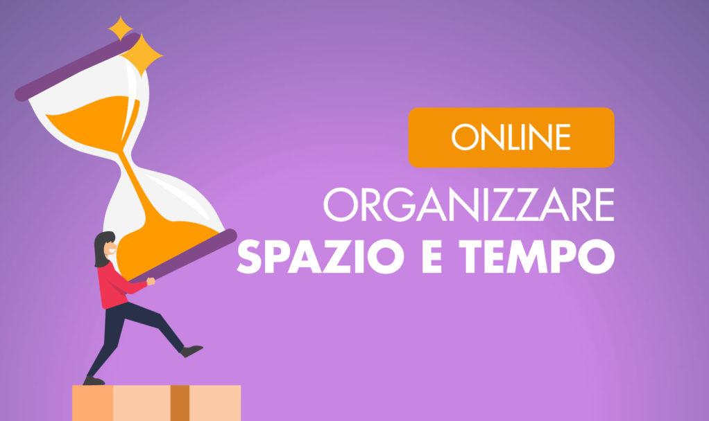 Organizzare Italia organizzare spazio e tempo corso online