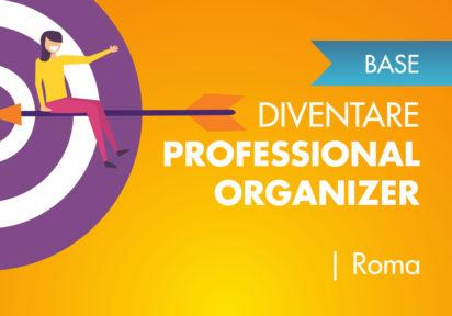 25/26 gennaio 2020 Roma  – Corso Base per diventare Professional Organizer